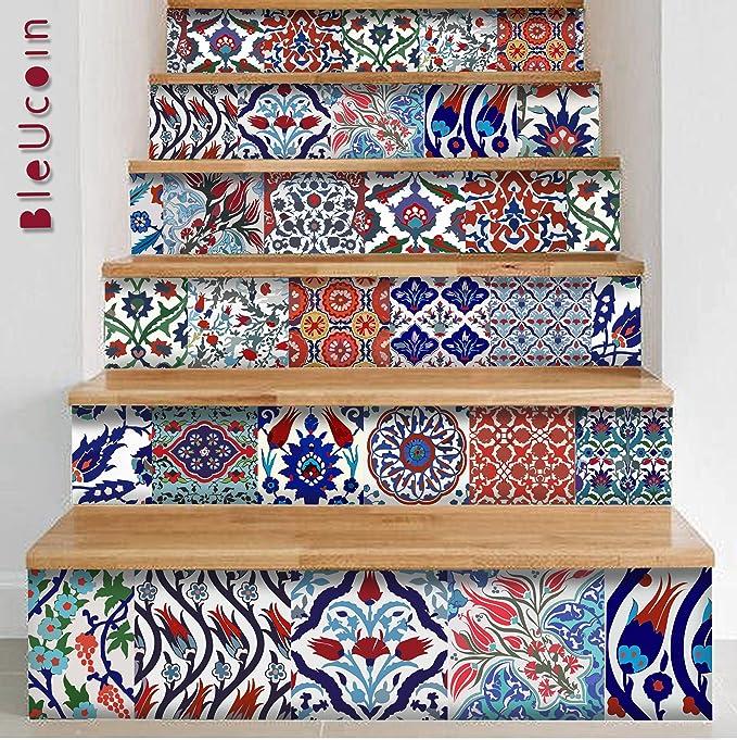 Türkische Fliesenaufkleber Für Küche Badezimmer Backsplash, Tür, Schrank,  Abnehmbare Schale Und Stick Stair