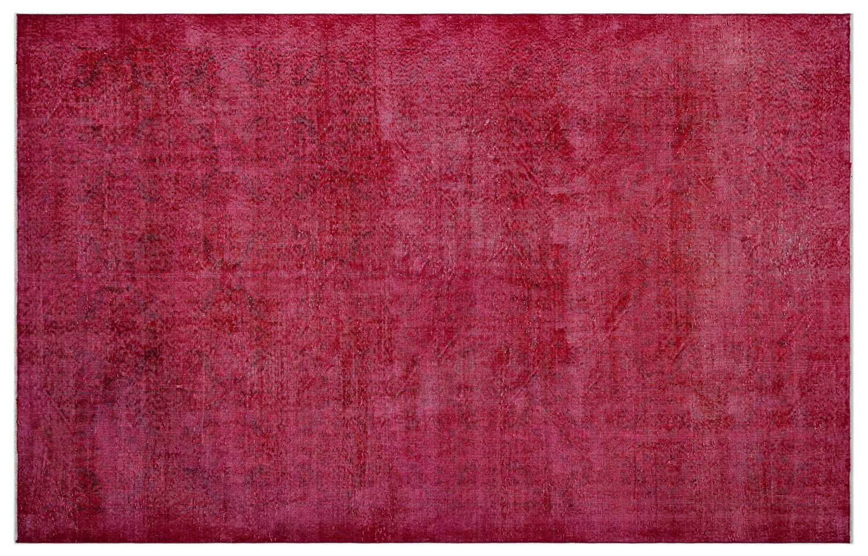 Bespoky ビンテージ 手織 ラグ 赤 大きいサイズ 205 X 315 Cm   B07HL9T6R2