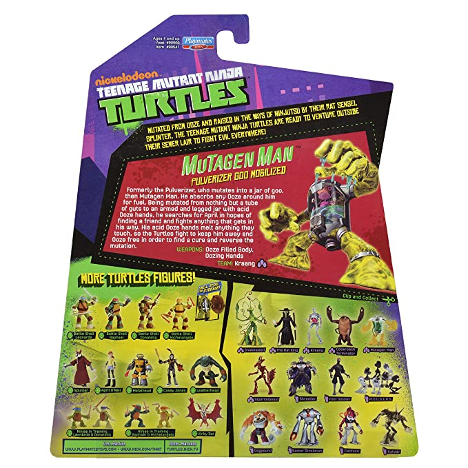 Teenage Mutant Ninja Turtles - Figura de acción de 5