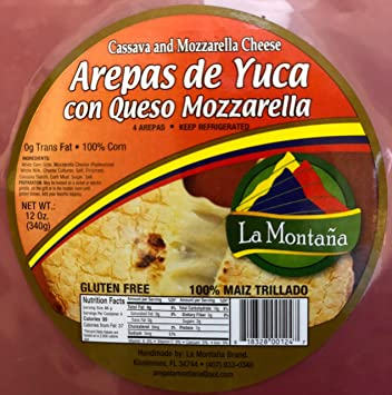 amazon com arepas colombianas arepa de yuca grocery gourmet food