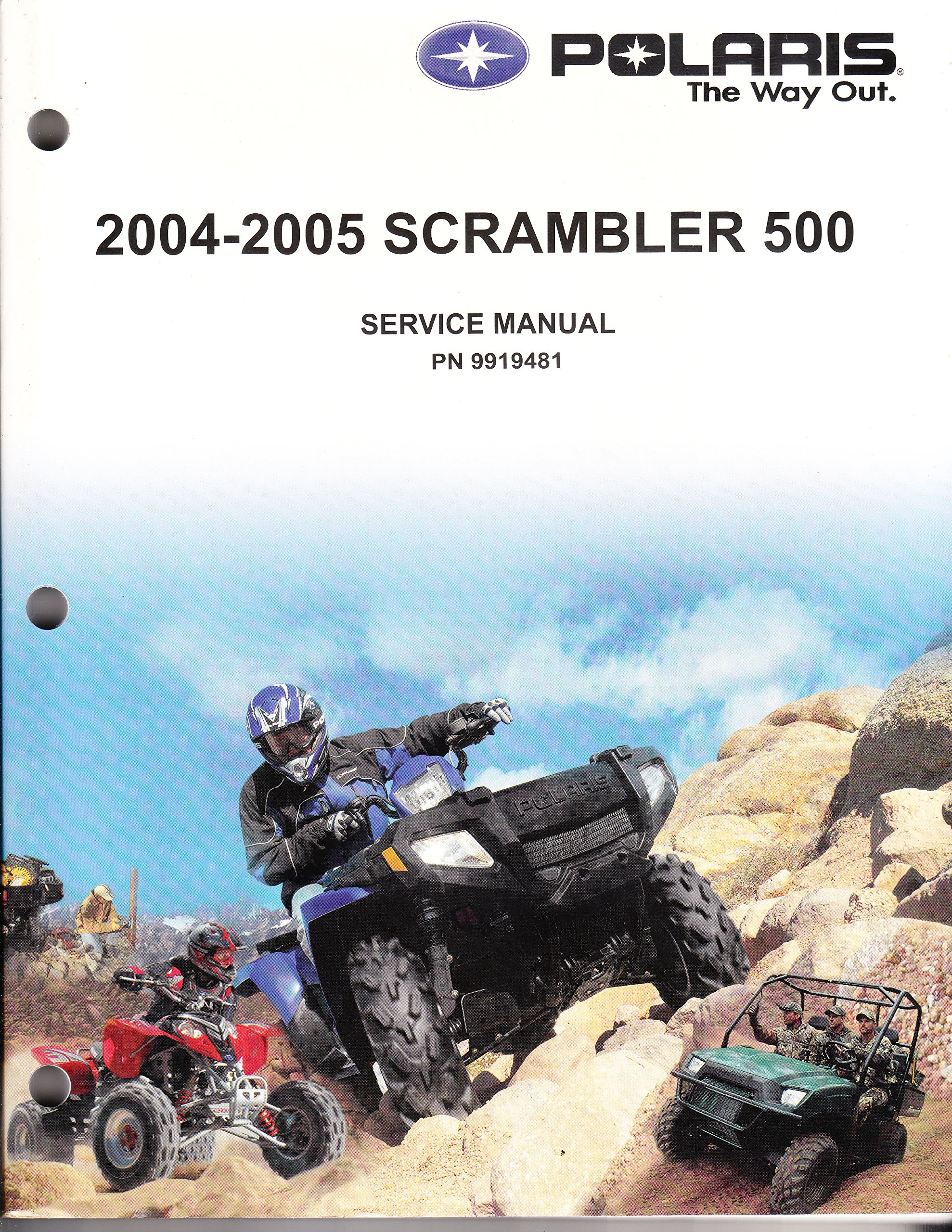Polaris ATV 2004-2005 Scrambler 500 Service Repair Manual #9919481: Polaris:  6122905640939: Amazon.com: Books