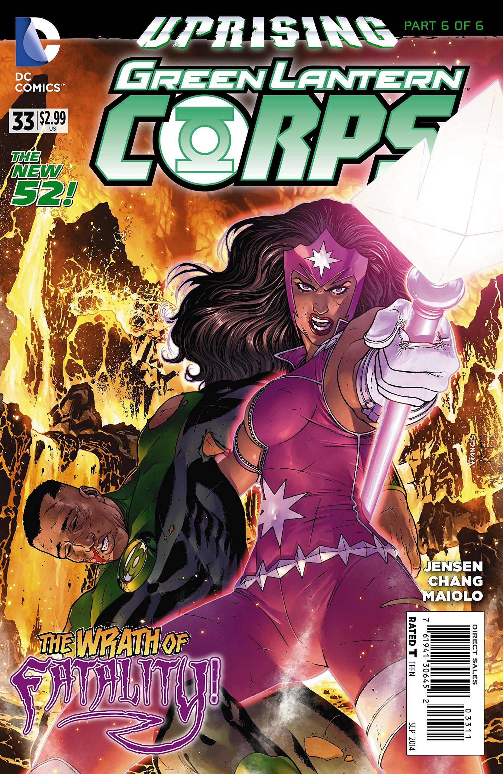 Green Lantern #33 pdf