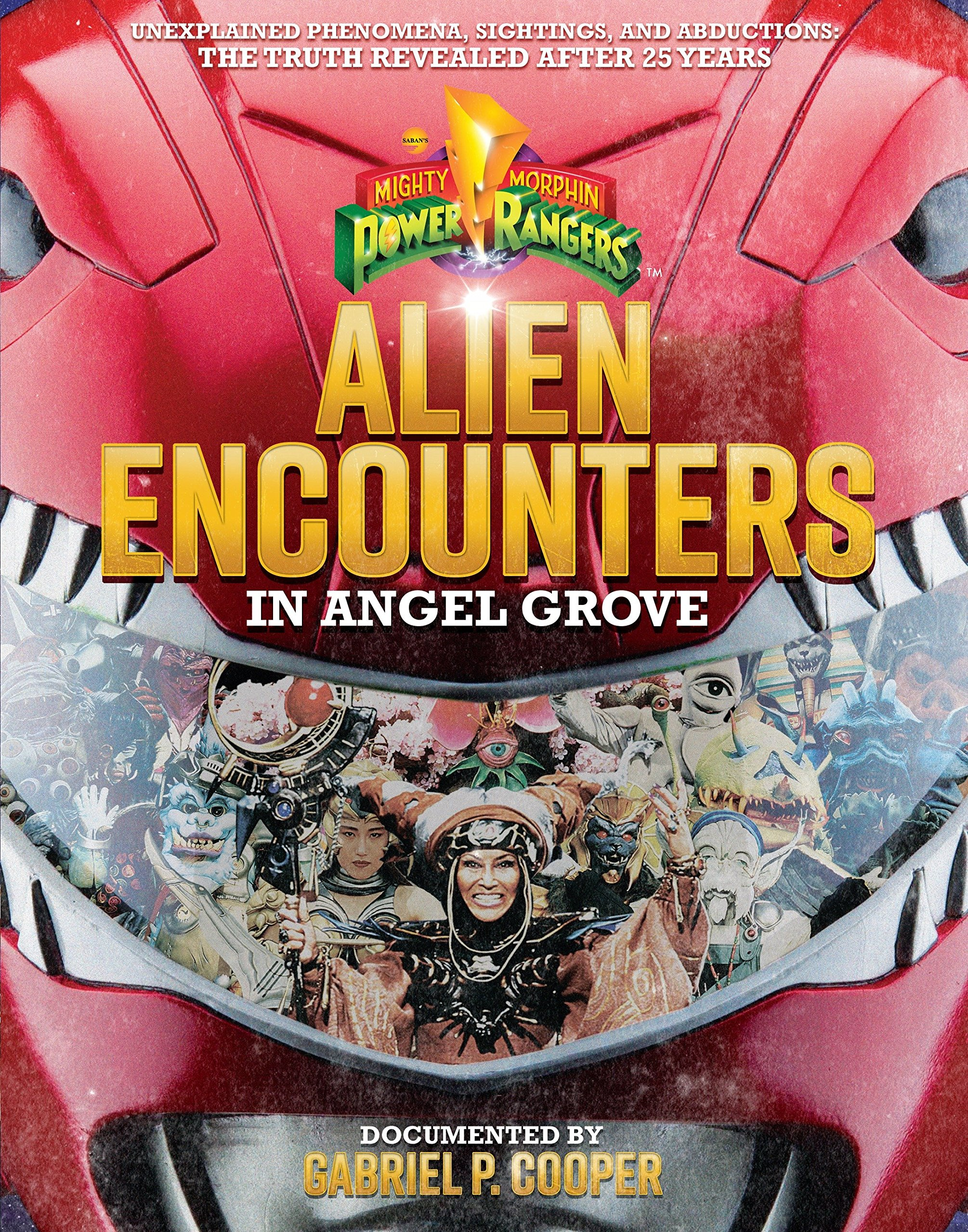 Alien Encounters in Angel Grove (Power Rangers) by Penguin Young Readers Licenses (Image #1)