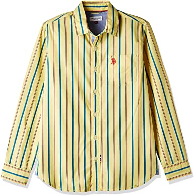 US Polo Assn. Boys Shirt Boys' Shirts at amazon