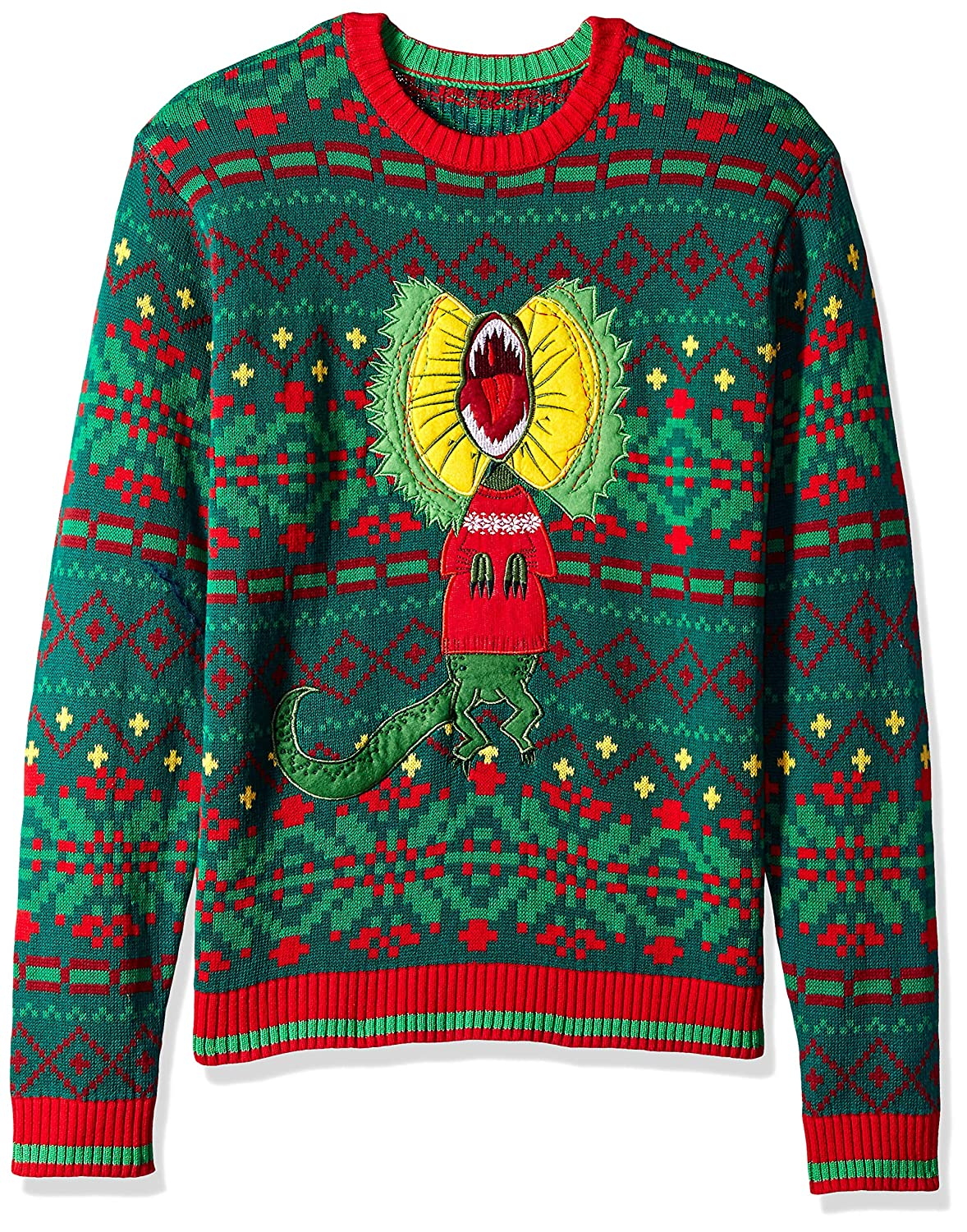 eb169d2f8 Blizzard Bay Mens Spitting Dinosaur Ugly Christmas Sweater Sweater  Amazon. ca  Clothing   Accessories