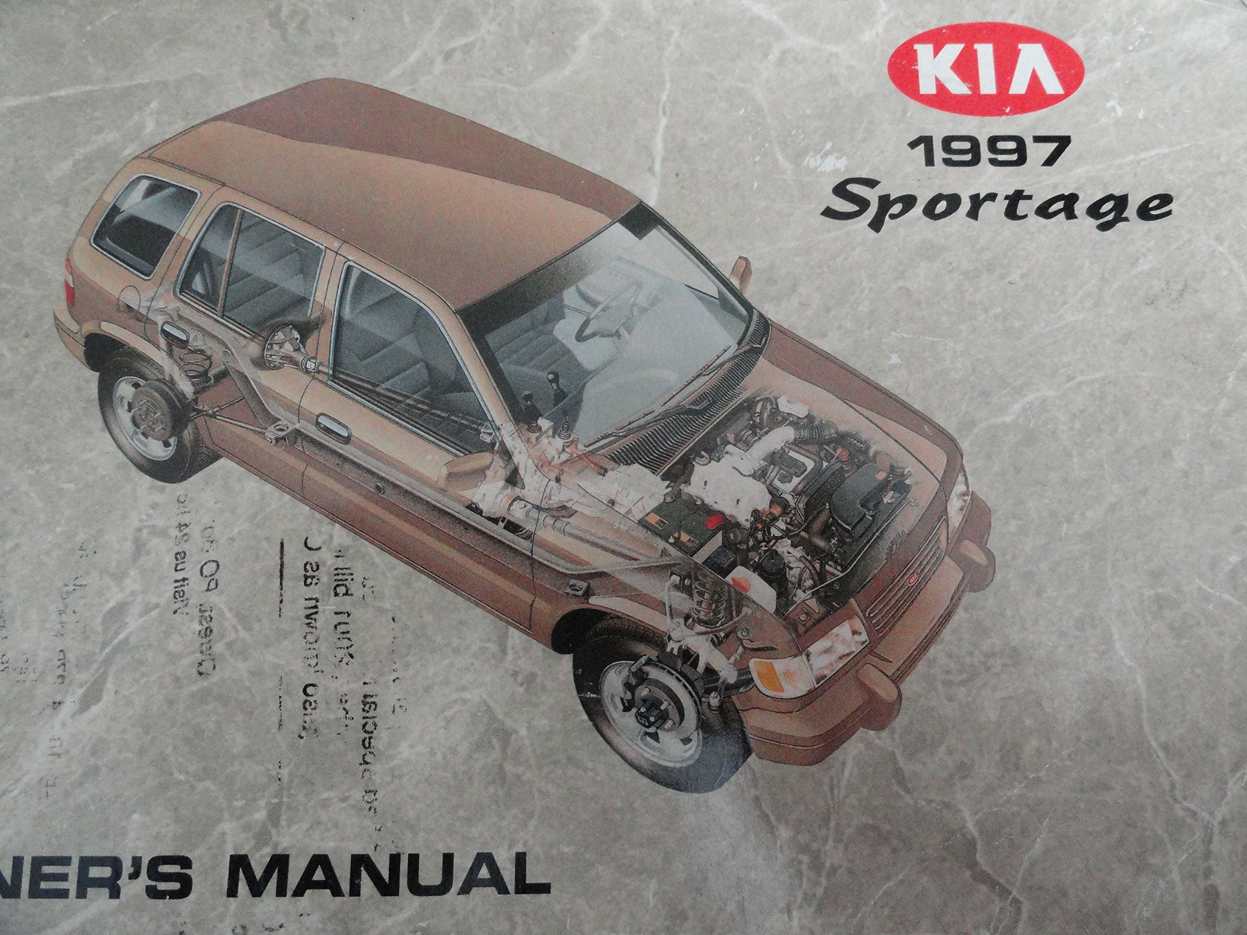 1997 Kia Sportage Owners Manual: Kia: Amazon.com: Books