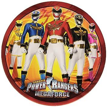 amscan - Cubertería para fiestas Power Rangers (RM552532): Amazon.es: Juguetes y juegos