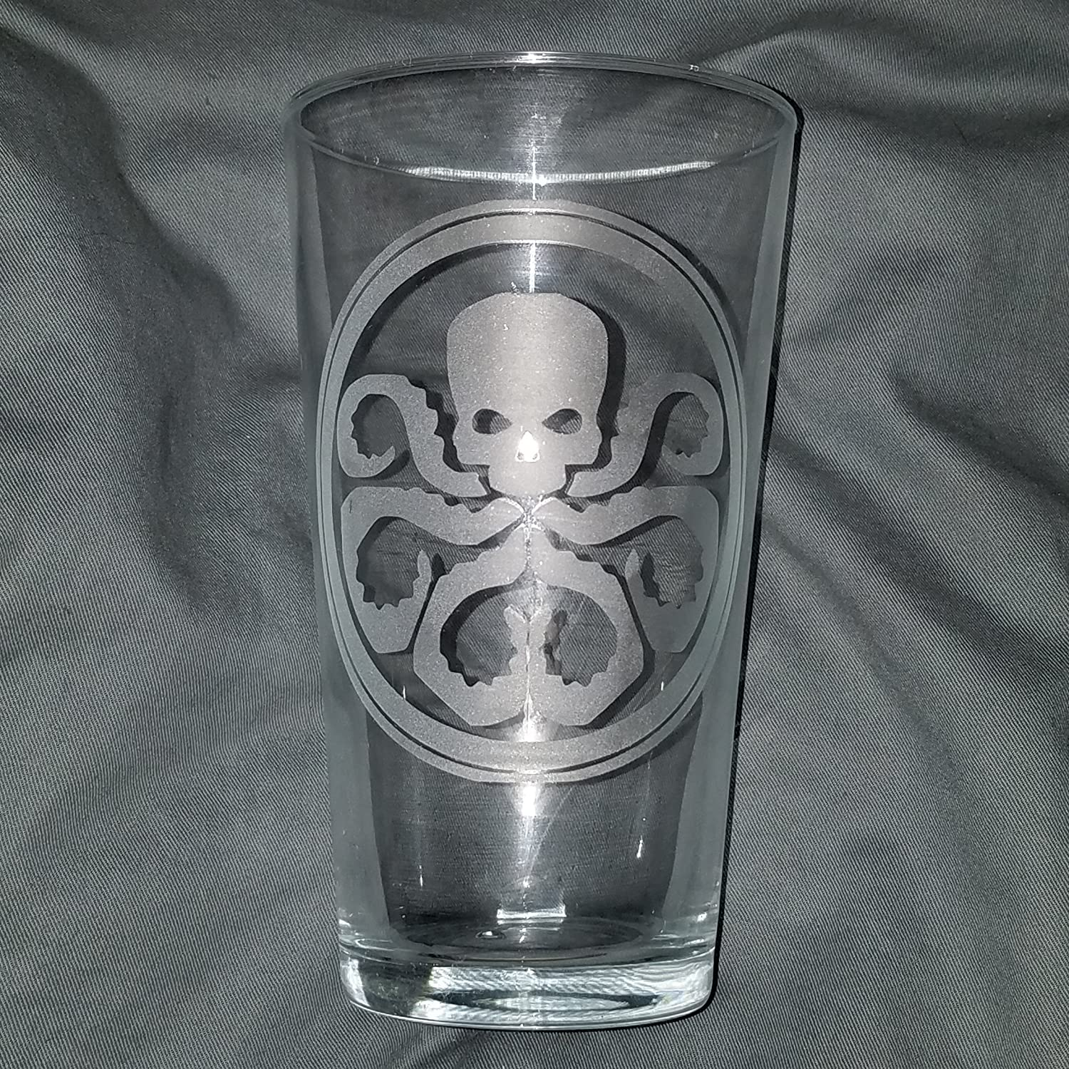 Hydra......from Agents of Shield....These are a set of 2 -16oz etched glass that's a must!