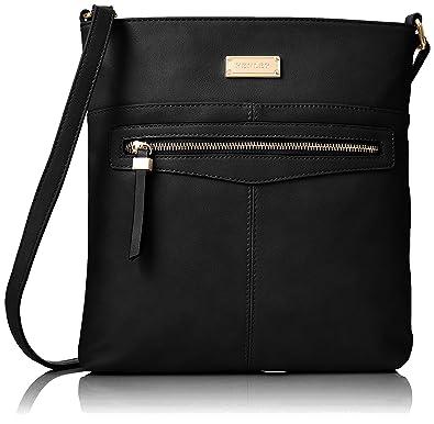a70ffb0b62 Henley Women s Annie Cross-Body Bag Black (Black)  Amazon.co.uk ...