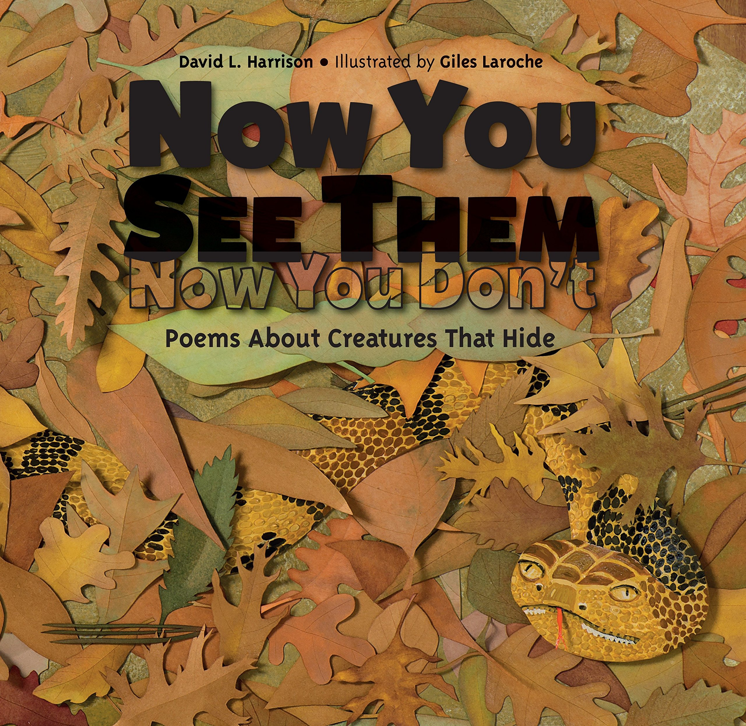 Now You See Them, Now You Don't: Poems About Creatures That Hide ebook