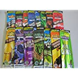 Juicy Double Wraps - 5 Packets X 2 Cigar Wraps in 5 Flavors