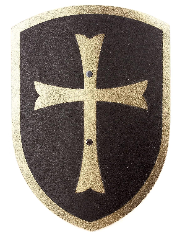 Juguetes Fábrica VAH 216 - Estable Escudo de Madera de los Cruzados, 27/37 cm