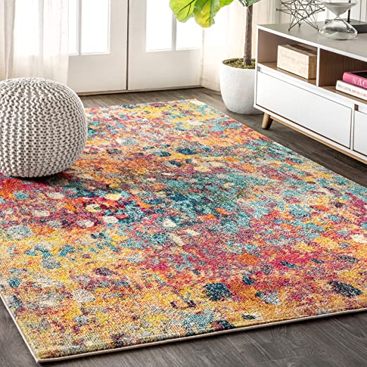 modern abstract rug