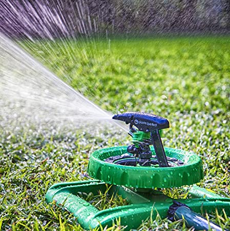 This Sturdy Sprinkler Provides A Coverage Area Of Up To 5,800 Square Feet  With A 60 Psi Rating To Help Cover More Area In Less Time.