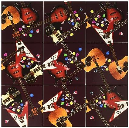 Scramble Squares Puzzle Guitars