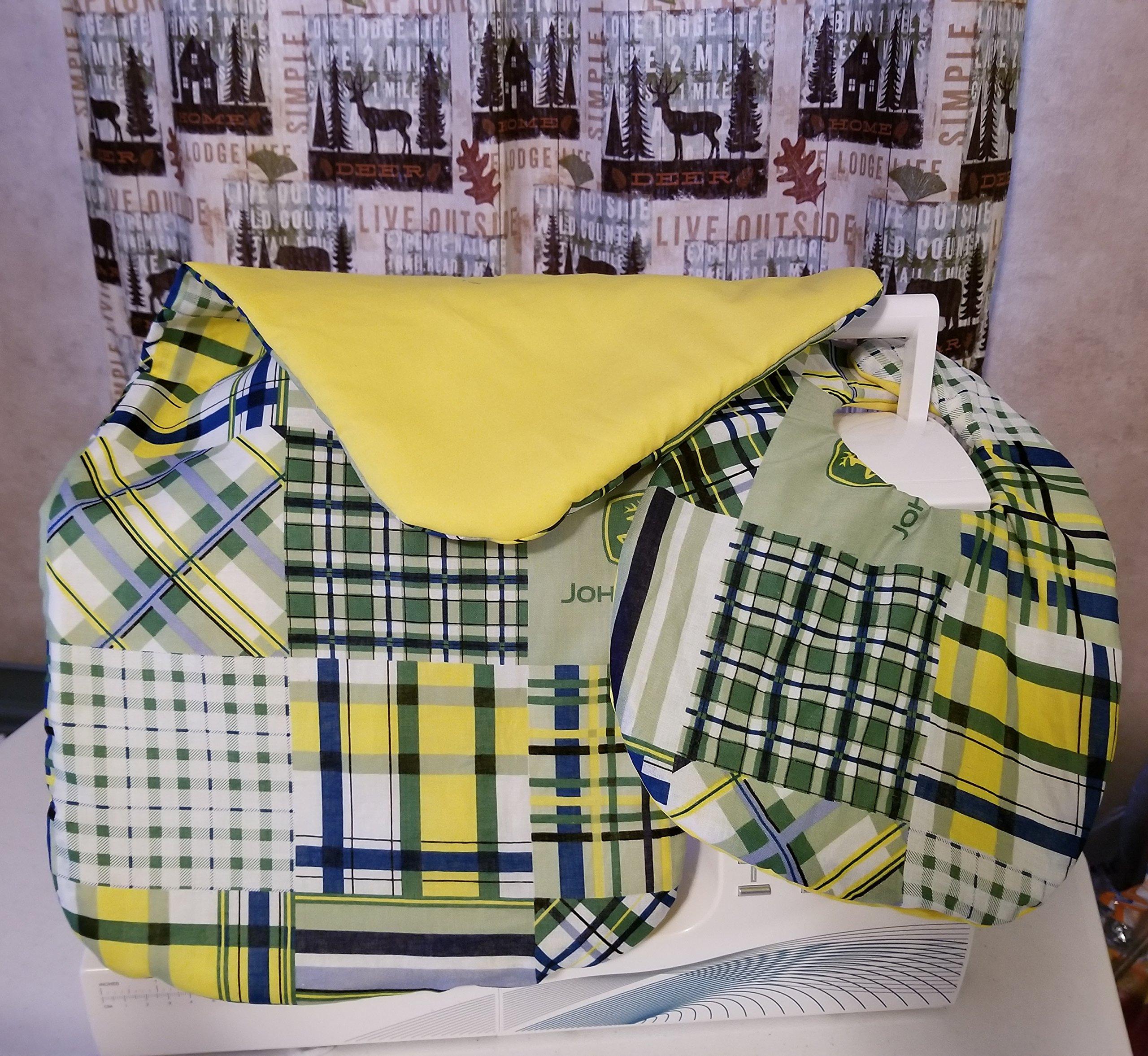 John Deere Baby Bib and Burp cloth set
