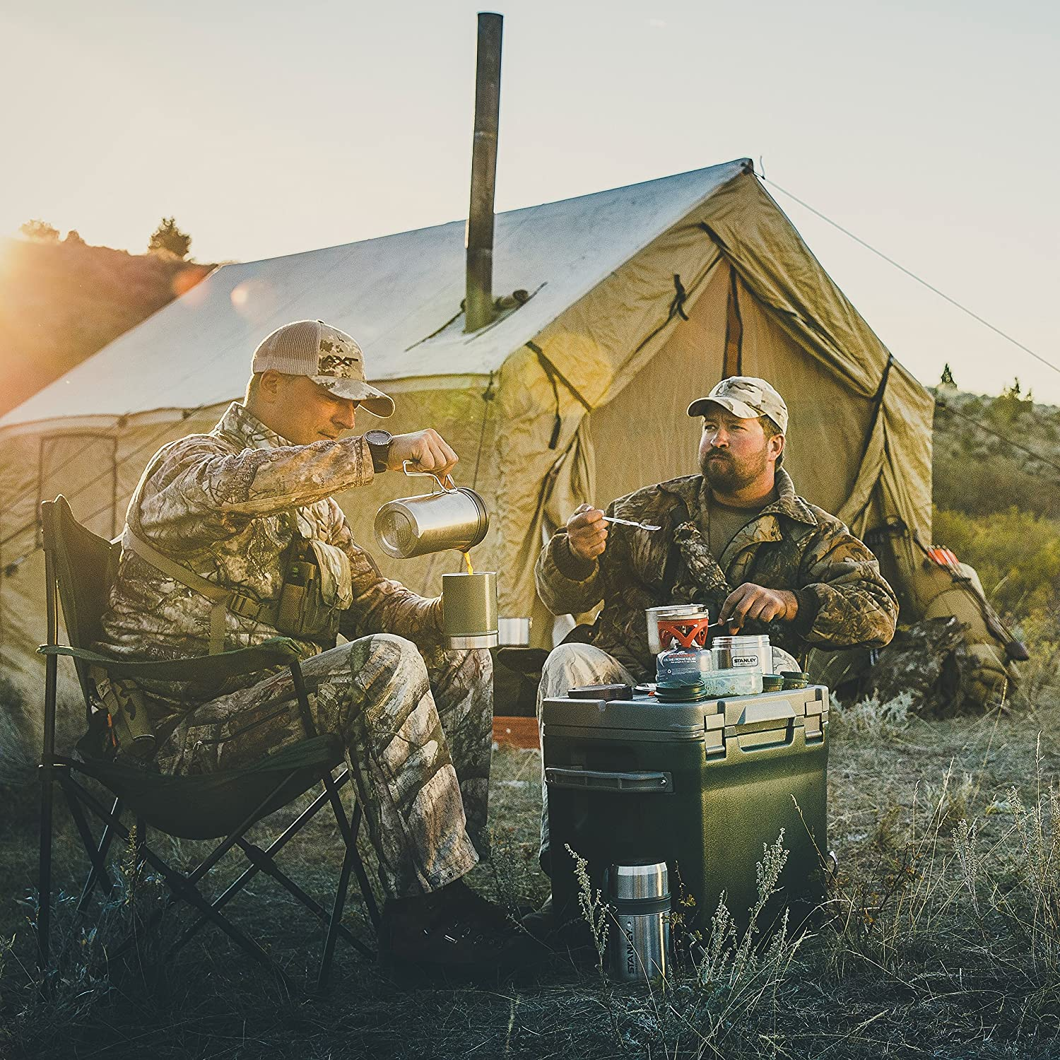 Multi-functional Brews, Boils And Cooks made our list of unique camping gifts for men which are some of the most cool camping gifts for special occasions and the CampingForFoodies hand selected best camping gifts for him are awesome for the rest of the family too!