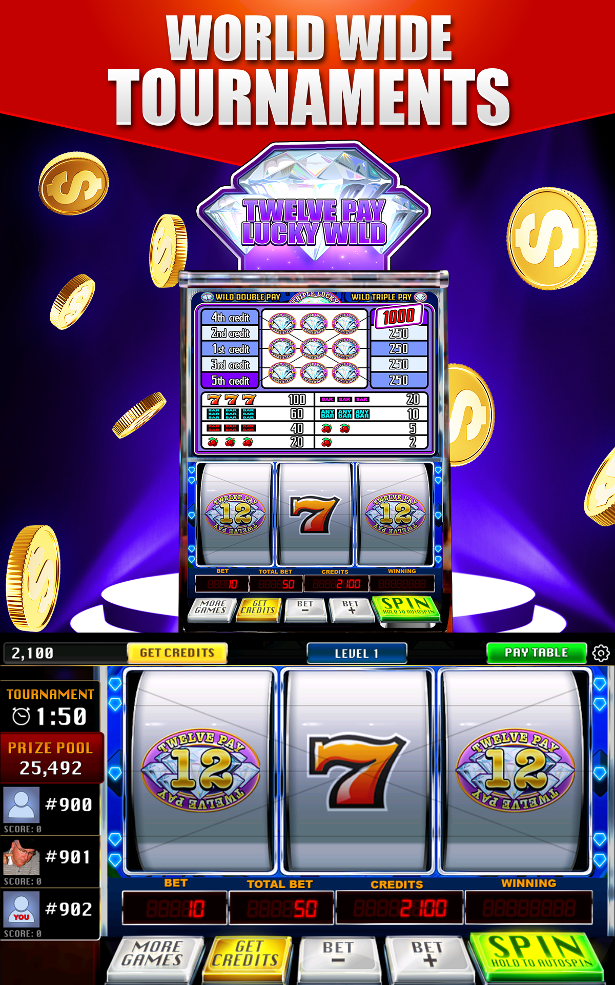 Vegas Slot Games Free