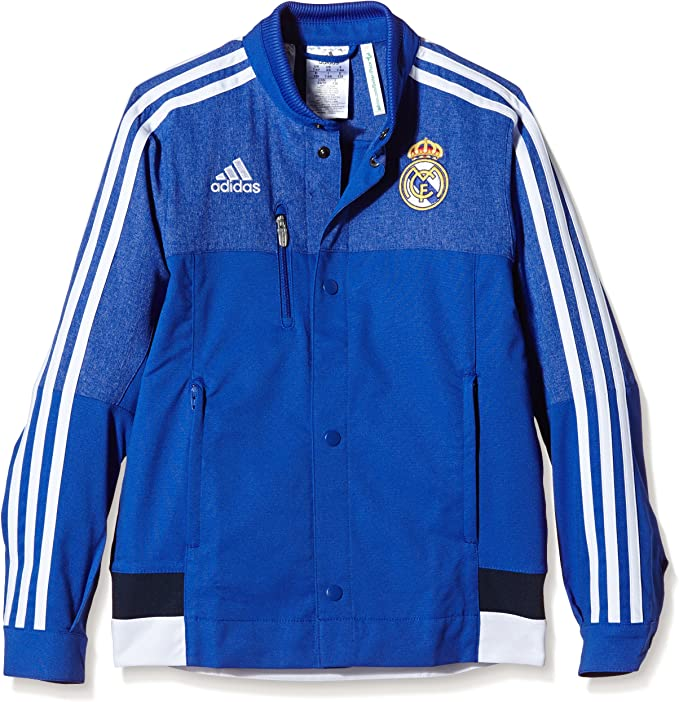 adidas Real Madrid Anthem Jacket Jacke Kids Blau | 10107862