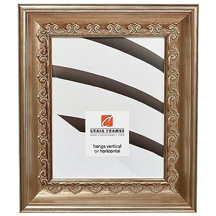 Amazon Craig Frames Arqadia Gothic Brushed Silver Picture