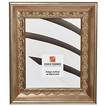 Amazoncom Craig Frames Arqadia Gothic Brushed Silver Picture