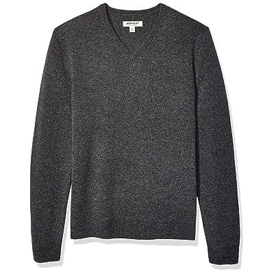Brand - Goodthreads Men's Lambswool V-Neck Sweater: Clothing