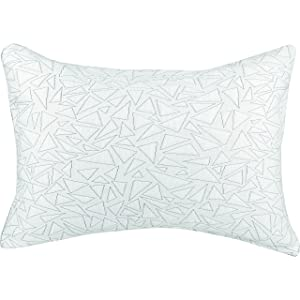 """Evercool Cooling Pillow Protector – Soft RapidCool Fiber is Cool to the Touch and Releases Heat – Extends the Life of Your Pillow – Machine Washable – Standard/Queen 20""""x28"""", Cracked Ice Pattern"""
