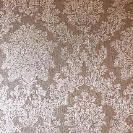 Arthouse Foil Damask Rose Gold Wallpaper 294400