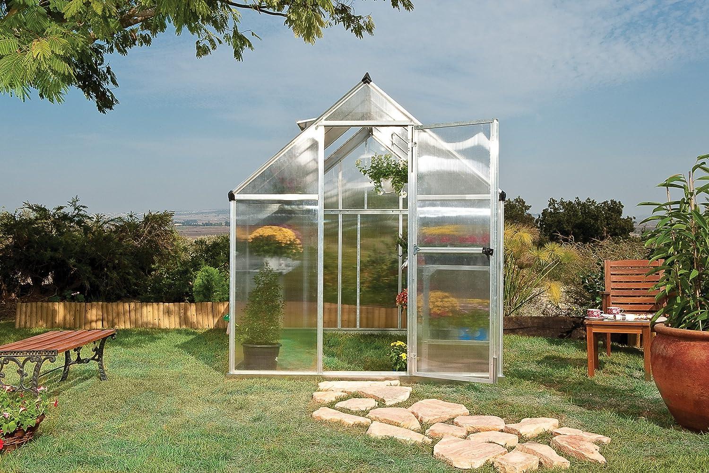 amazon com palram nature series mythos hobby greenhouse 6 u0027 x 8