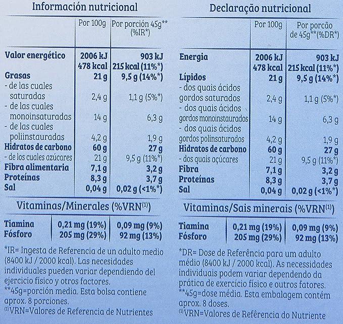 Quaker Cruesli Copos de Cereales Crujientes con 4 Clases de Frutos Secos - 375 g: Amazon.es: Amazon Pantry