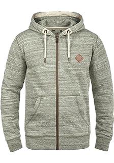 Sport-Kapuzenpullis & -Sweatshirts BLEND Jonas Herren Kapuzenjacke Zip Hoodie Sweatjacke aus 100% Baumwolle Neu Kleidung & Accessoires
