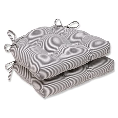 Amazon.com: Pillow Perfect Oxford - Almohadillas para silla ...