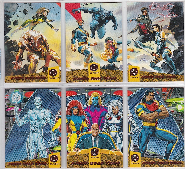 9 PACKS X-MEN Xmen Marvel 1996 Fleer foil packs trading cards Canadian version