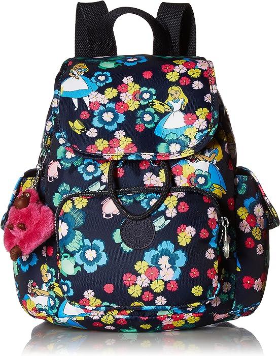 c78dd8dcddf Kipling Disney Alice in Wonderland City Pack Xs Tea Rose Backpack ...