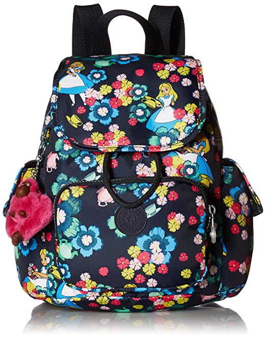 Amazon.com: Kipling Disney Alice in Wonderland City Pack Xs Tea Rose Backpack: Clothing