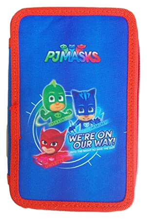 PJ Masks Plumier Doble