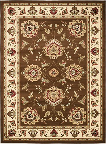 Safavieh Lyndhurst Collection LNH555 Traditional Oriental Non-Shedding Stain Resistant Living Room Bedroom Area Rug