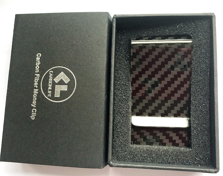 Carbon fiber wallet Money Clip Credit Card holder-CL CARBONLIFE Clips for men CL-MC-011-1