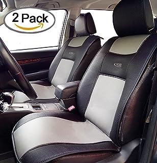 Amazon.com: Waterproof Universal Car Seat Cover Cushion, Non-Slip PU ...