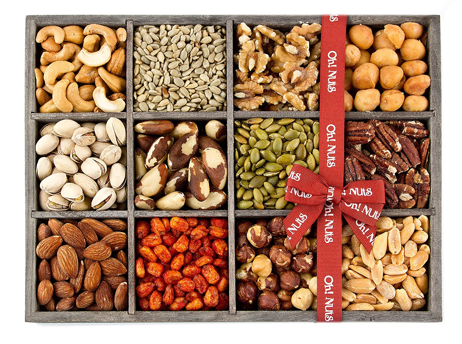 Amazon.com : Gift Baskets, Mixed Nuts Gift Baskets and Seeds ...