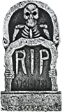 "Pack of 4 Halloween Décor 17"" Foam RIP Graveyard Tombstone Halloween Decorations RIP"