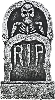 pack of 4 halloween dcor 17 foam rip graveyard tombstone halloween decorations rip