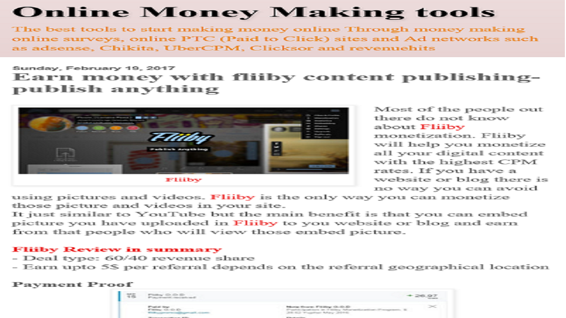 online money making tools