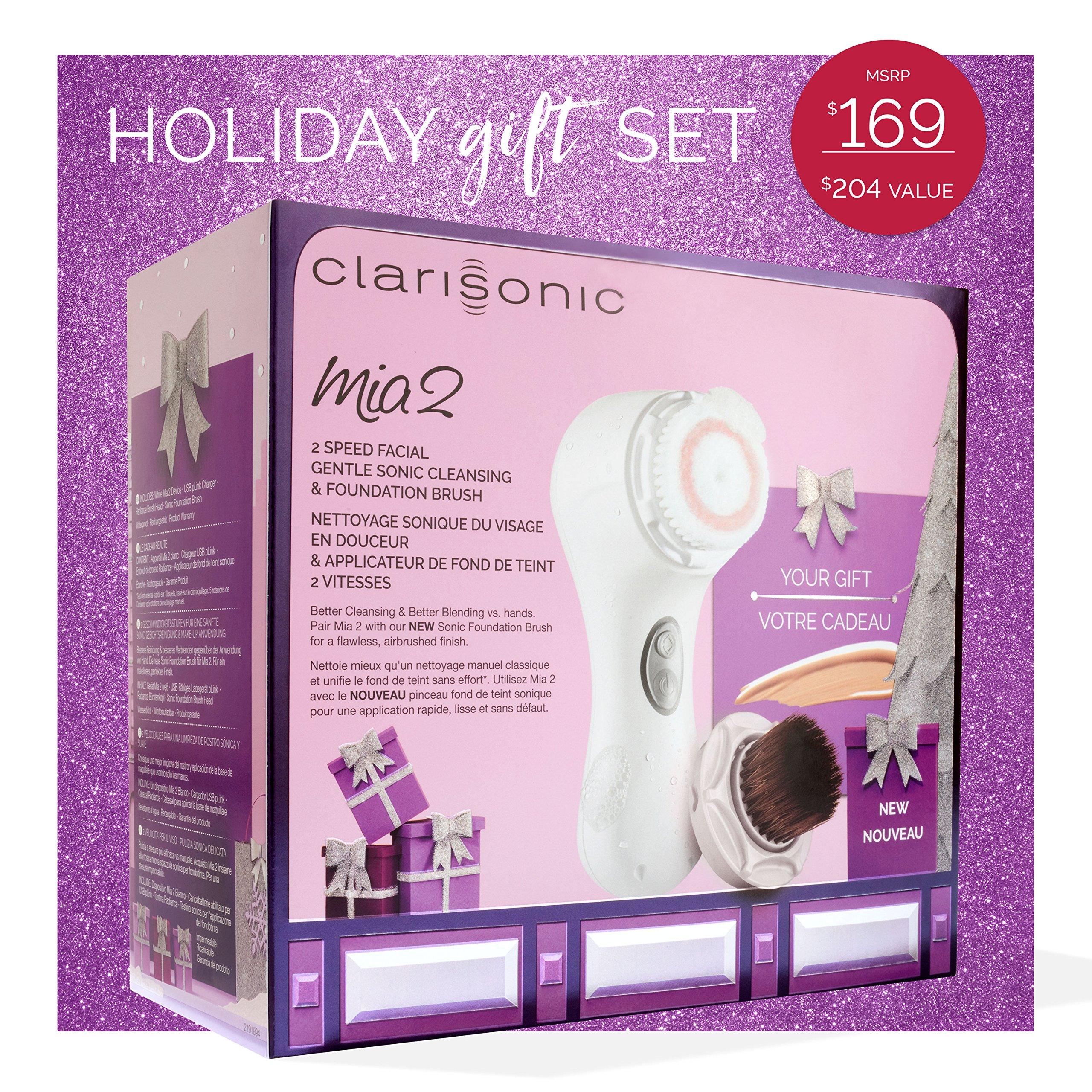 Clarisonic Mia 2 Blend & Cleanse Holiday Gift Set by Clarisonic (Image #3)