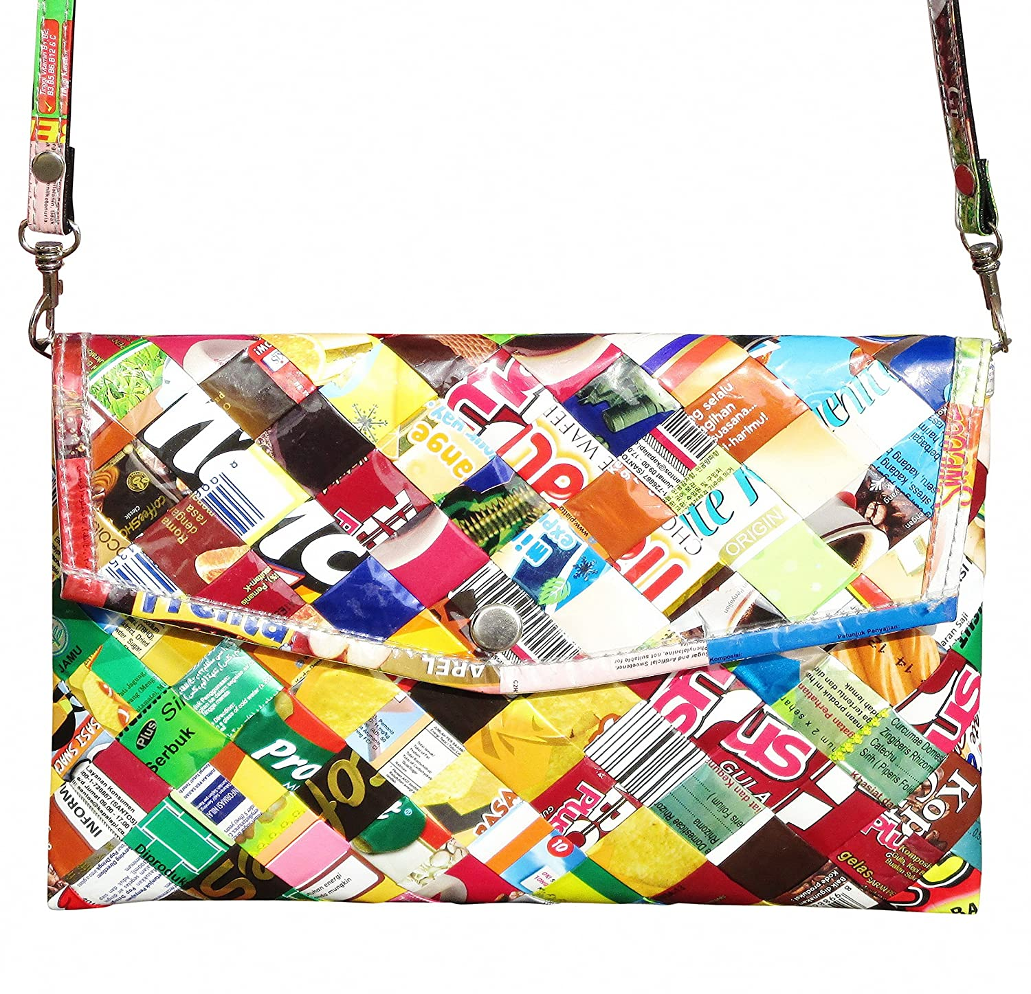 Amazon.com: Clutch purse using candy wrappers