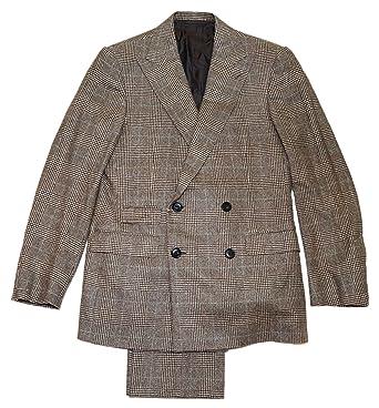Mens Lauren Brown Cashmere Label Polo Italy Purple Ralph Suit Plaid SqUzMVp