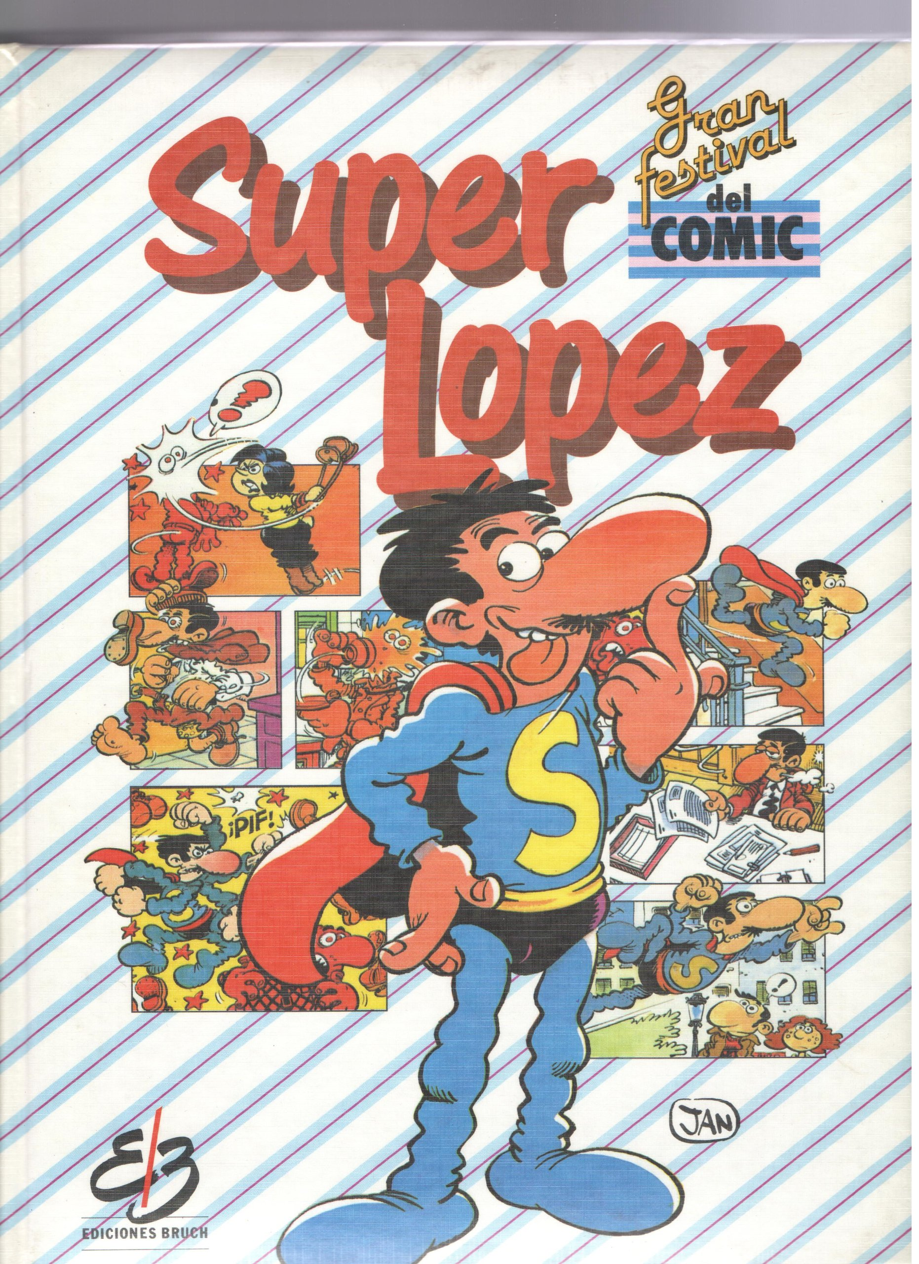 Super Lopez. Gran festival del comic. 3- tomos: Amazon.es ...