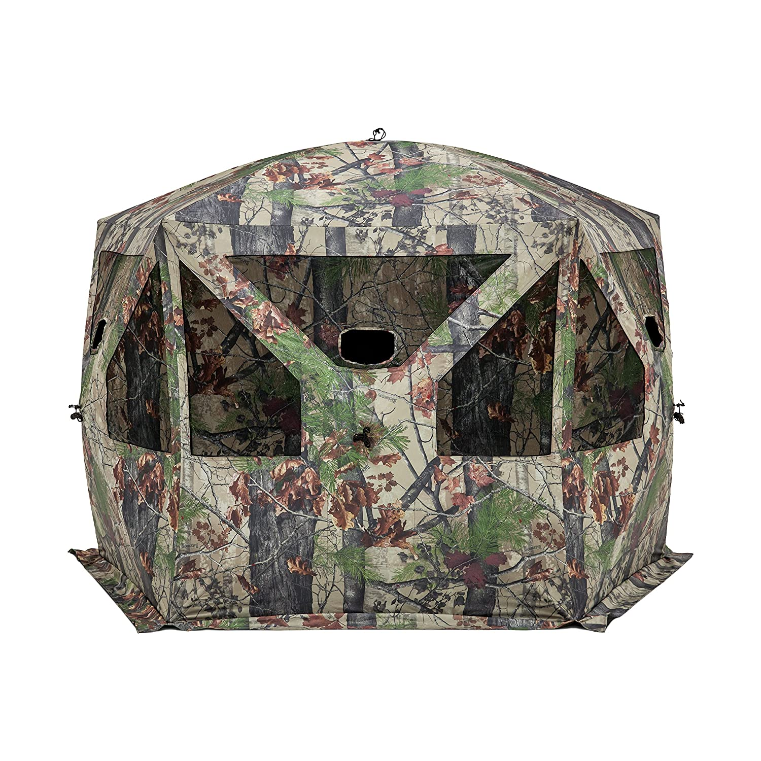 hunting blind man person design game stand ladder blinds s item ebay mesh p seats rivers v bowman two edge shaped
