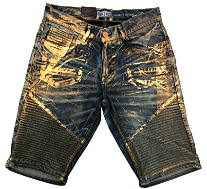 3b553ace Jordan Craig Modern Moto Shorts (36, Vintage Gold) at Amazon Men's ...