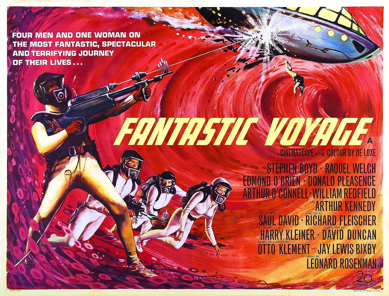 Amazon.com: Fantastic Voyage (1966) Movie Poster 24x36 inches ...